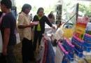 Cyto Organic Fertilizer in OTOP fair at Surat Thani city Hall