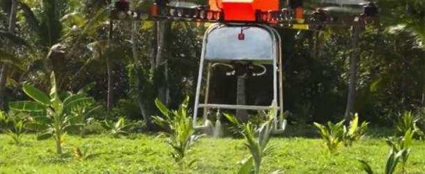"""แนะเกษตรกรยุค4.0 ใช้""""โดรน""""ลดต้นทุน-ทุ่นแรง"""